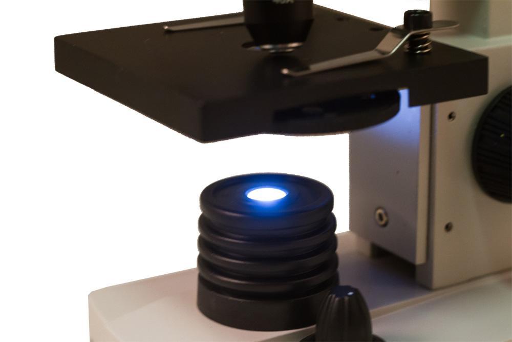 Mikroskopy biologiczne i lupy : mikroskop levenhuk rainbow 2l plus